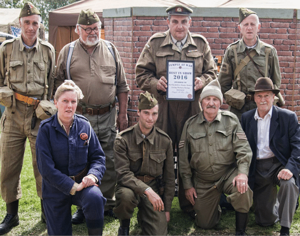 Hertfordshire Home Guard Temple At War Best In Show 2016